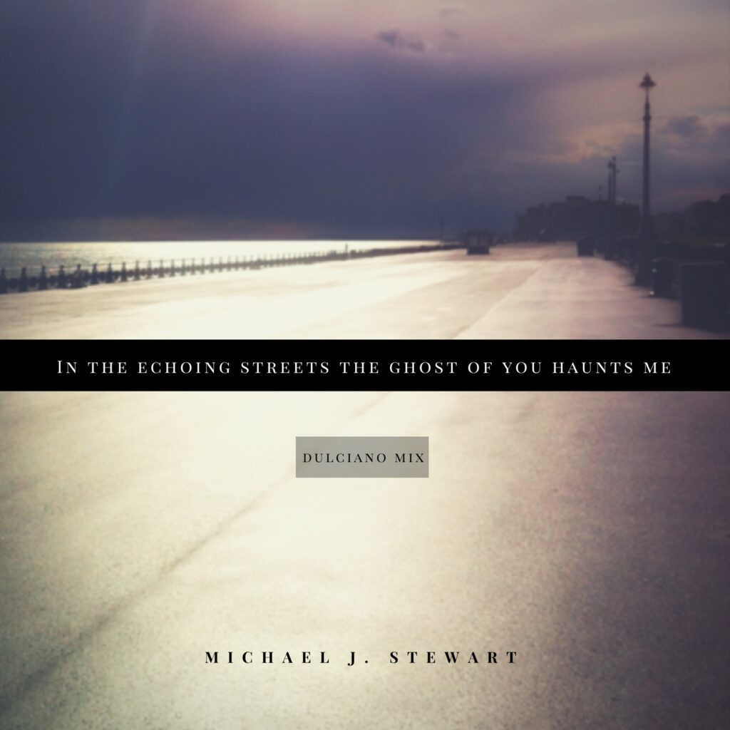In the echoing streets the ghost of you haunts me - Michael J. Stewart